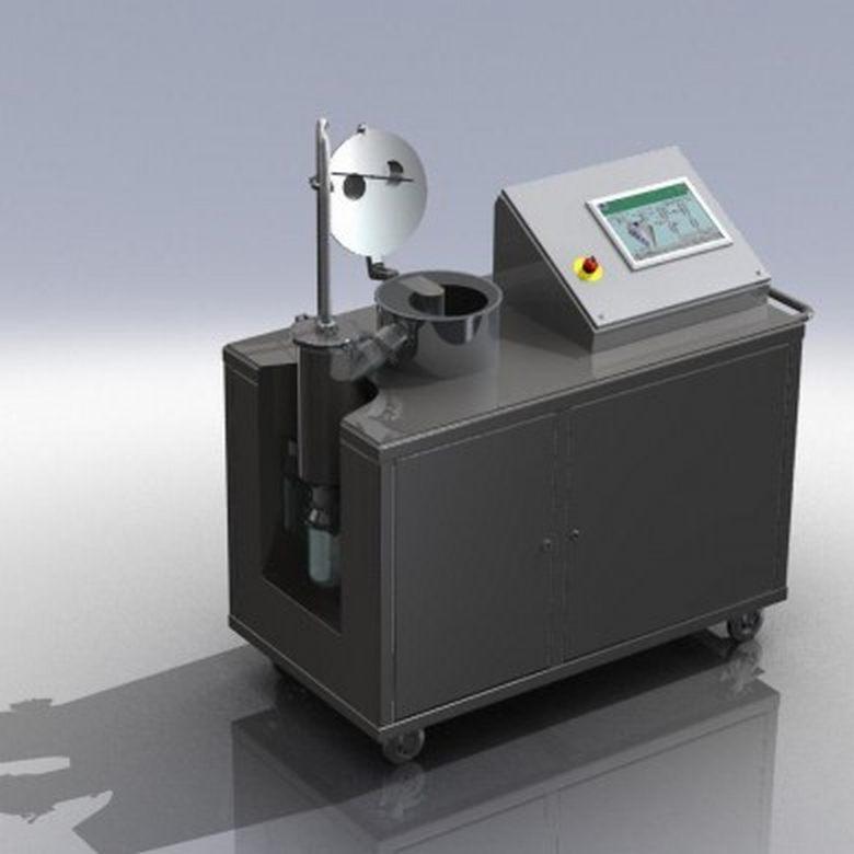 Laboratóriumi léptékű aktív fagyasztva szárító