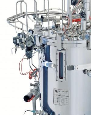 Gőzsterilezésű rozsdamentes acél bioreaktorok