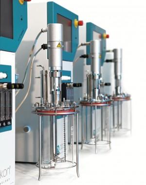 Autoklávozható üveg bioreaktorok