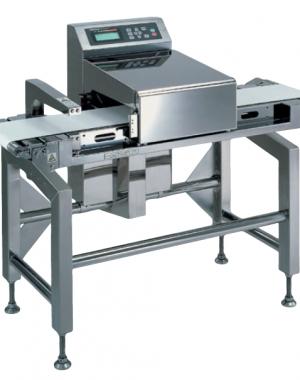 Fémdetektor rendszer alumínium gőzölt tasakokhoz