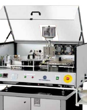K&F kemény zselatin kapszula lezáró gép