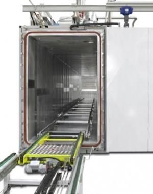 Etilén oxidos sterilizáló kamra