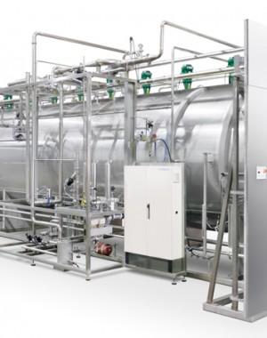 Gőz- és levegőkeverékes sterilizáló autokláv