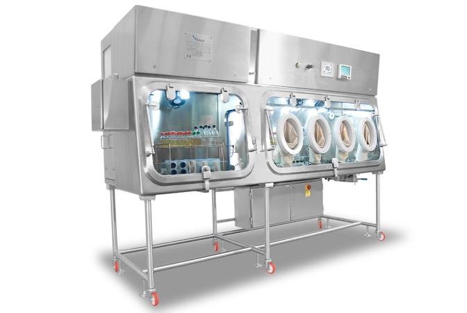 Sterilitás vizsgáló izolátorok