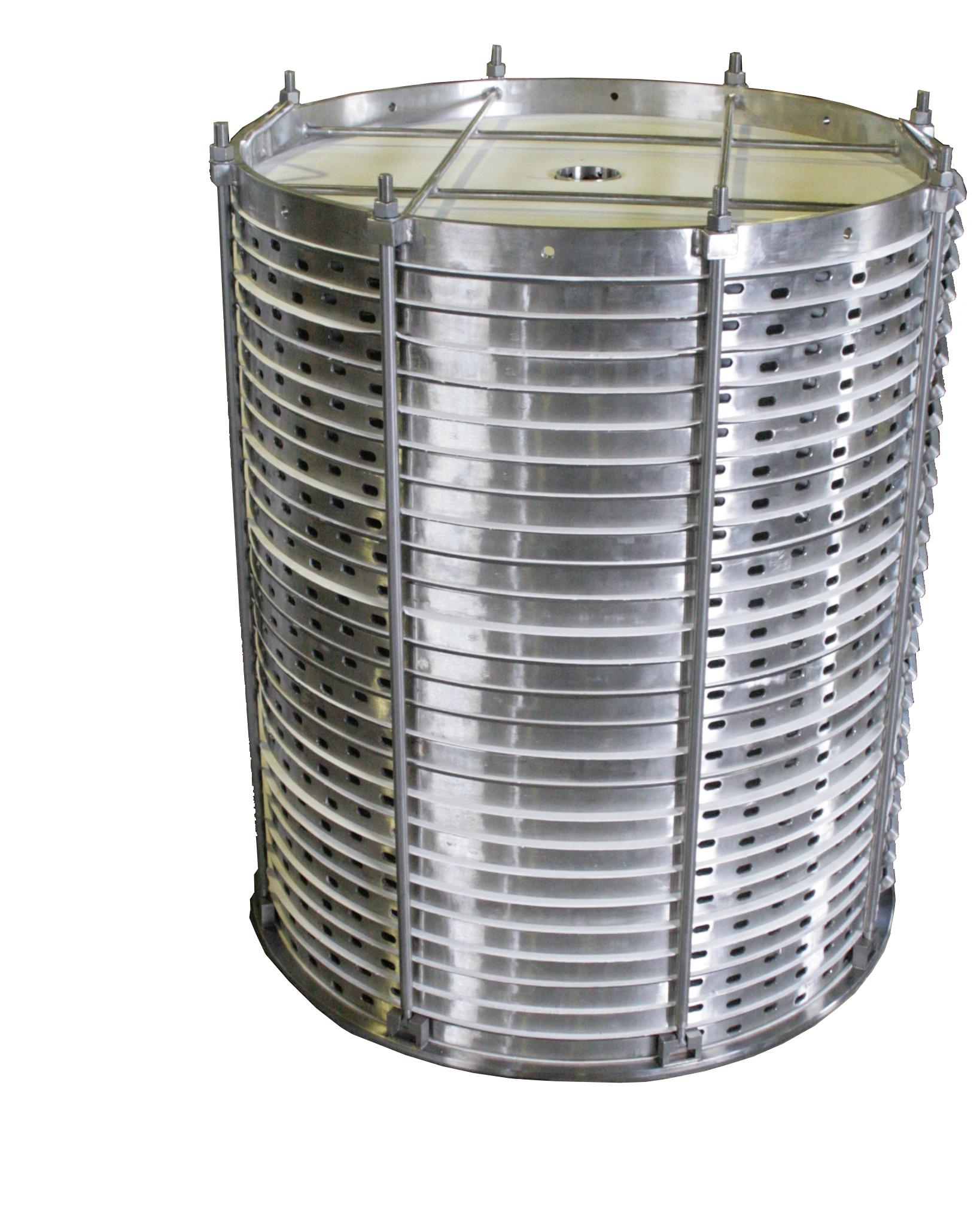 Vízszintes szűrőlap elrendezésű hulladékszűrők