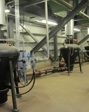 Pneumatikus szállítás, ipari, biomassza kazánokhoz