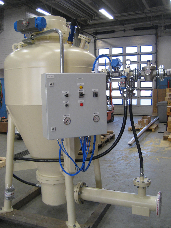 Hamukezelő rendszerek, ipari biomassza kazánokhoz