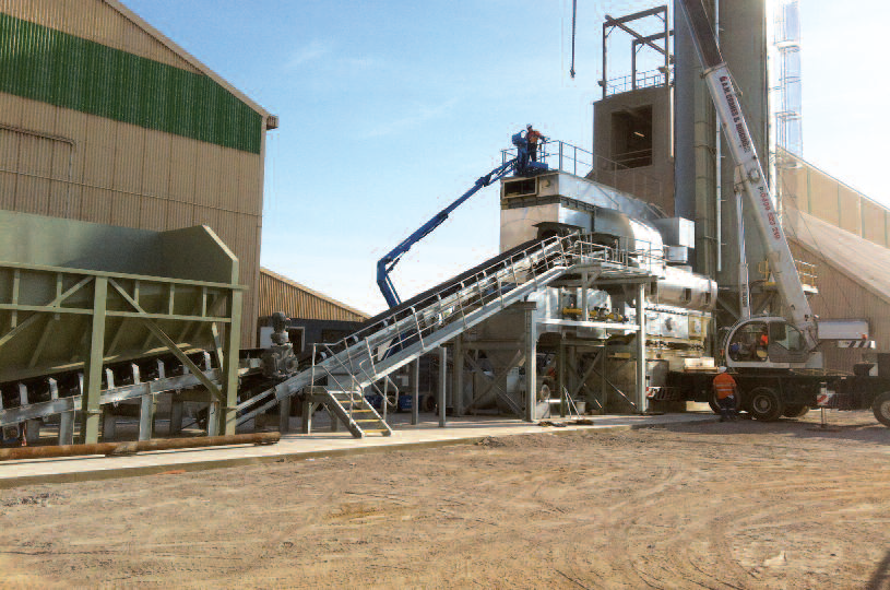 Imtech Ventilex fluidbed dryer at the Brolton Group