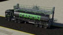 Billenőlépcső a közúti és vasúti tartálykocsik biztonságos és egyszerű hozzáféréséhez