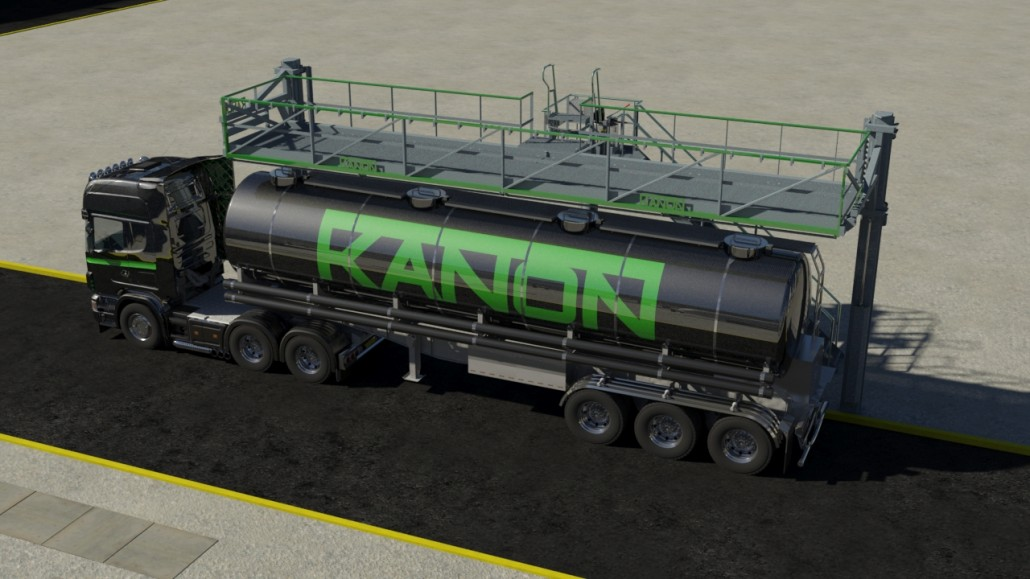 Kanon elavation platform