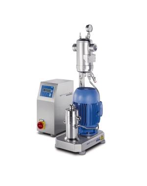In-line, laboratóriumi és félüzemi diszpergáló gép