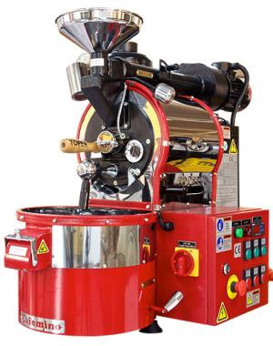 Gáztüzelésű kávépörkölő