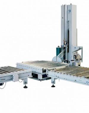 Közép sebességű automata zsugorfóliázó gép
