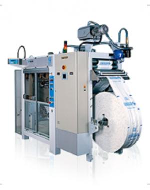 Vízszintes töltő és lezáró gép 250 g-tól 10 kg-os zacskóhoz