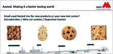 Alkalmi vétel: Aasted gyártmányú szeletárú, keksz, linzer stb. termékhez komplett gyártósor eladó