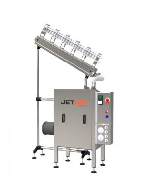 Ion3 légöblítő rendszer konténerekhez/tároló tégelyekhez