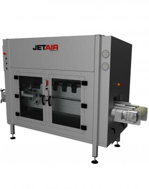 JetTunnel Pouch berendezés, légborotvás szárítórendszer zacskó-csomagolás szárítására