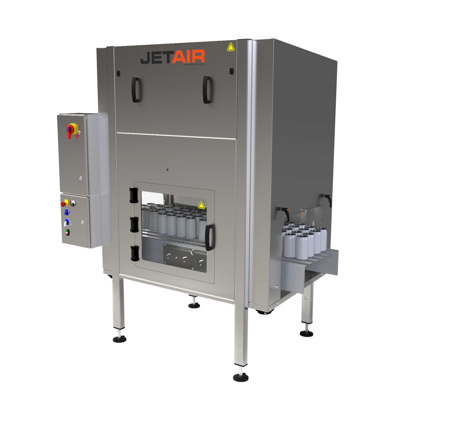 MassJet Bulk Dryer légborotva rendszer konzerv dobozokkoz