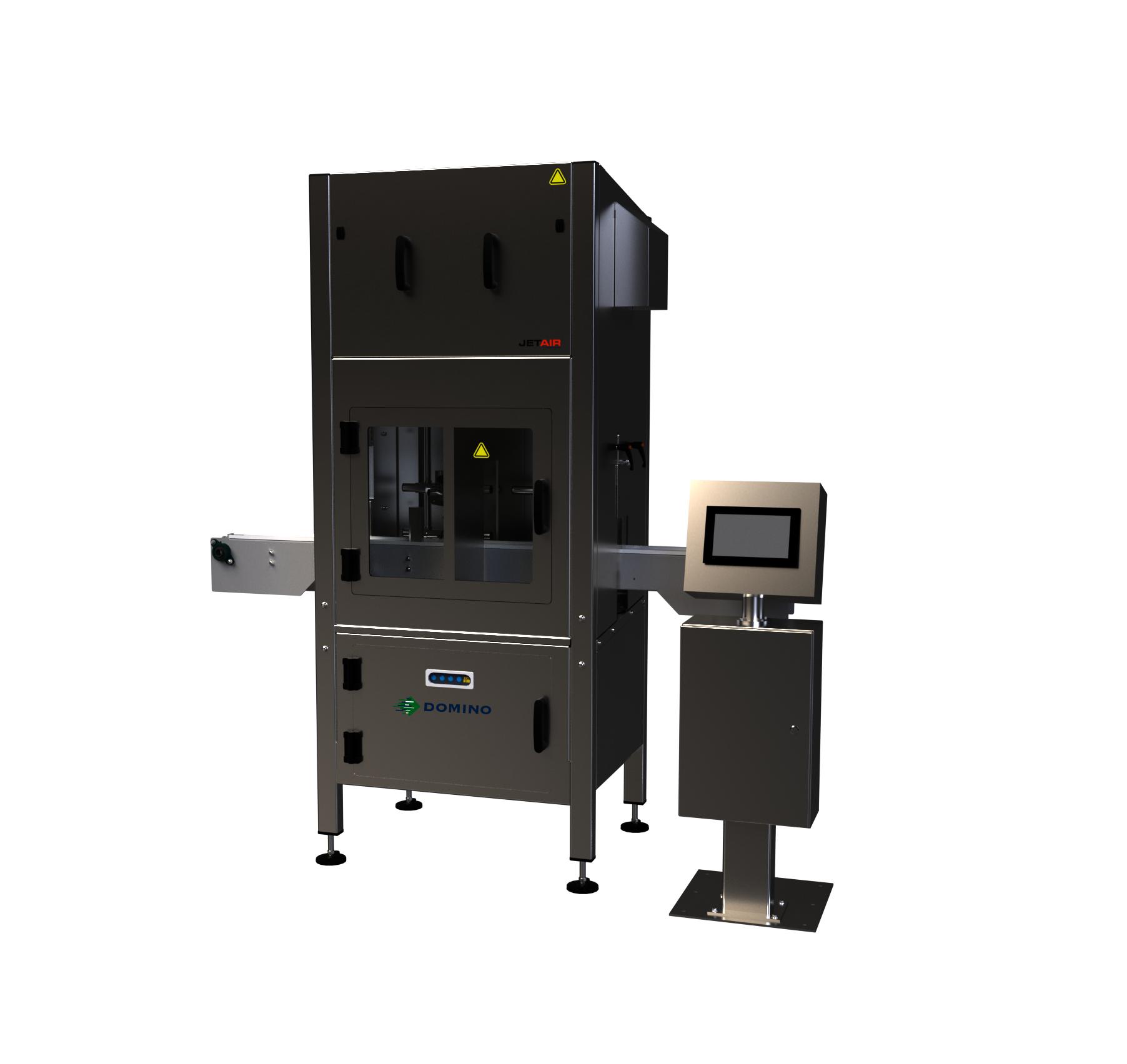 Nyomtató konzervdobozokhoz beépített szárítórendszerrel