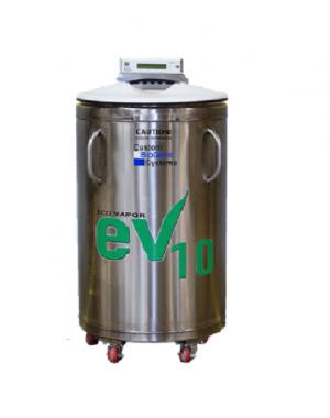 Folyékony nitrogén párologtatással működő fagyasztó
