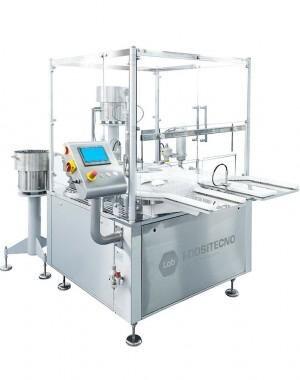 Kis teljesítményű steril fiola és fecskendő töltőgép