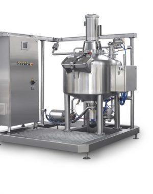 Centrifugal Mixer Unit, CMU, vaj-és tejszínalapú termékekhez