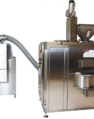 Kezdő szintű infravörös pörkölőberendezés dió- és mogyorófélékhez, valamint olajos magokhoz