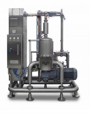 Continuous Aerating Mixer, folyamatos működésű légbekeverő