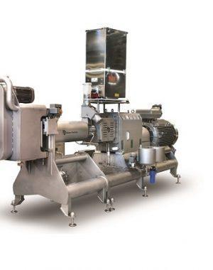 Extruder reggeli gabonafélék ipari méretű gyártásához