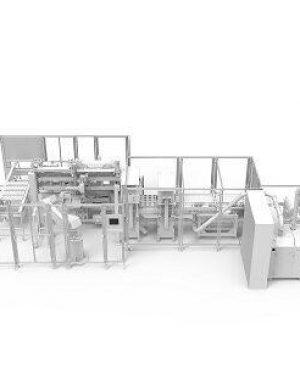Automata csomagológép csokoládéfigurákhoz
