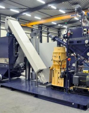 Pellet gyártó vonal trágyához