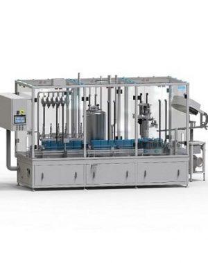 In-line Monoblokk lineáris töltő- és kupakzáró gép