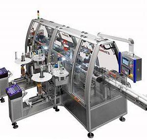 Címkéző gép BFS (felfúj-megtölt-lezár) tárolóeszközökhöz